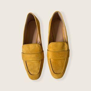 Zara Mustard Loafer 39